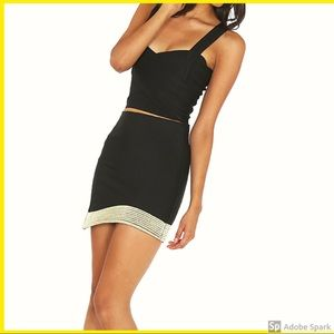 WOW couture Skirts - Black & gold skirt from wow couture collection